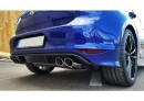 VW Golf VII 1.4 TSI 1.6 2.0 TDI split rear exhaust for R bumper